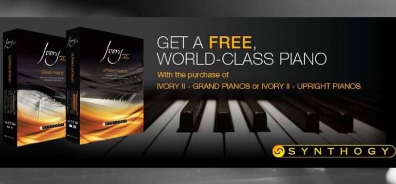 Get a FREE Award-Winning Piano from Synthogy for the Holidays!