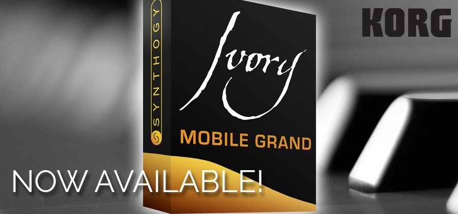 Now Available! Ivory Mobile Grand - Sound Expansion Pack for the Korg Module iPad App