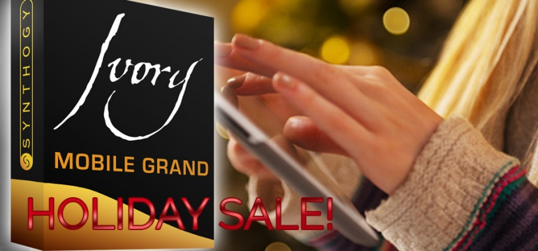 Ivory Mobile Grand for iPad on Sale During November!