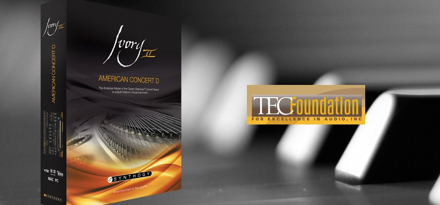 Ivory II American Concert D Nominated For The TEC Award